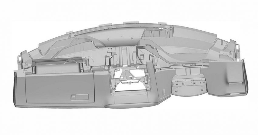 Next-gen Honda Civic interior patent images revealed Image #1186724