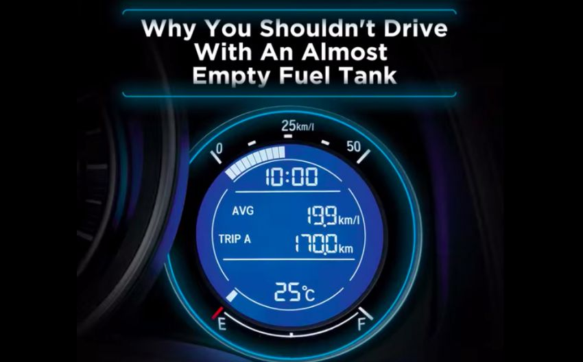 Driving with a near-empty fuel tank is bad – Honda Malaysia explains why 'E' does not mean Enough! Image #1195673