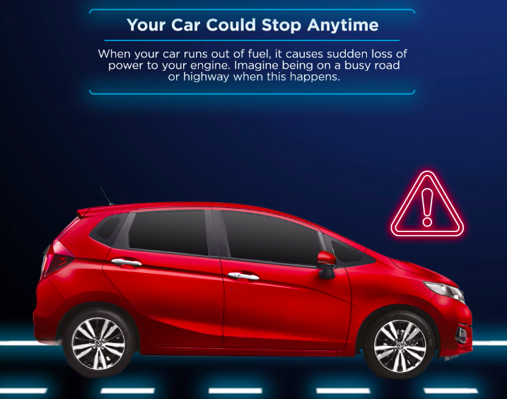 Driving with a near-empty fuel tank is bad – Honda Malaysia explains why 'E' does not mean Enough! Image #1195671