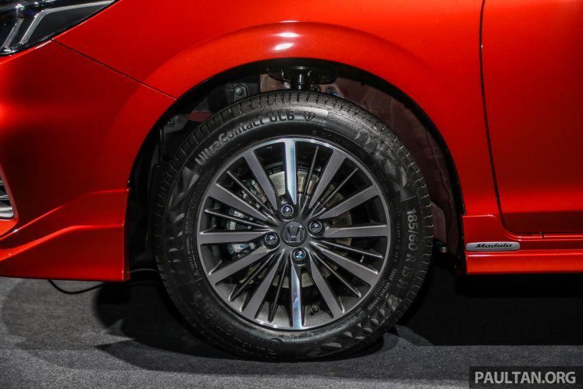 Honda City 2020 generasi kelima dilancarkan — empat varian, RS e:HEV, Honda Sensing; harga dari RM74k Image #1191961