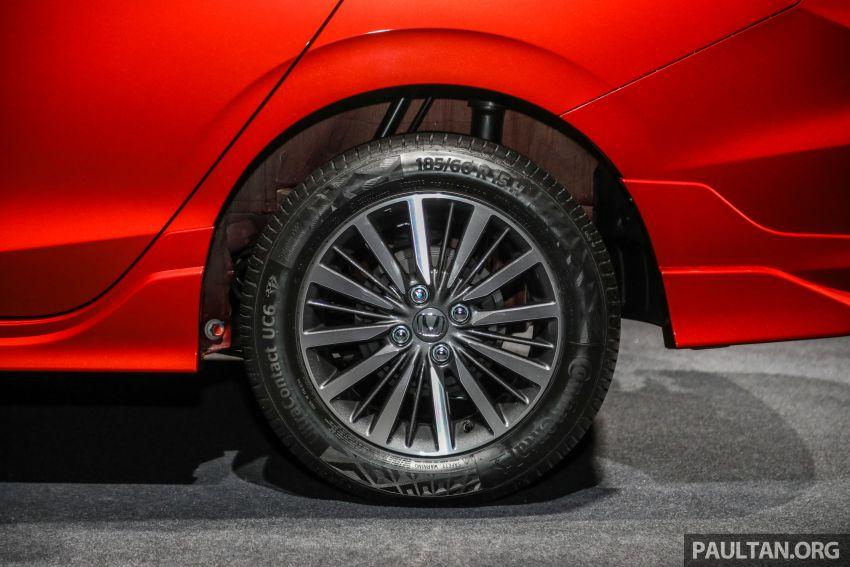 Honda City 2020 generasi kelima dilancarkan — empat varian, RS e:HEV, Honda Sensing; harga dari RM74k Image #1191973