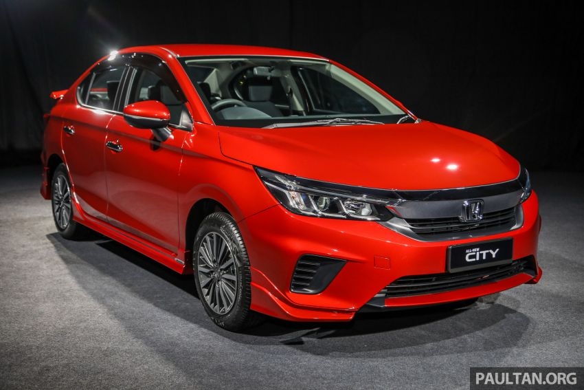 2020 Honda City – Modulo packages and accessories Image #1192164
