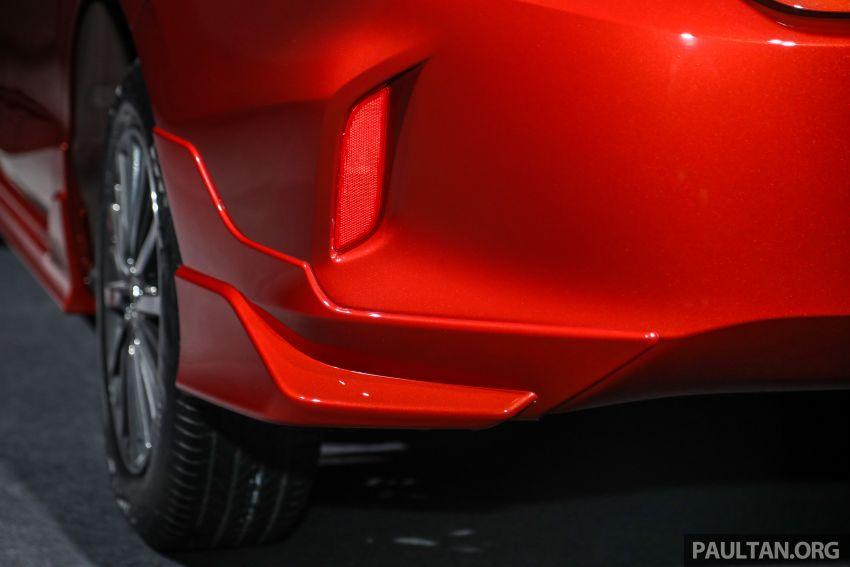 Honda City 2020 generasi kelima dilancarkan — empat varian, RS e:HEV, Honda Sensing; harga dari RM74k Image #1191985
