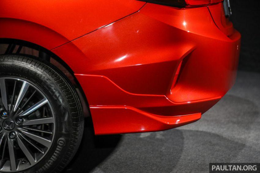 Honda City 2020 generasi kelima dilancarkan — empat varian, RS e:HEV, Honda Sensing; harga dari RM74k Image #1191987
