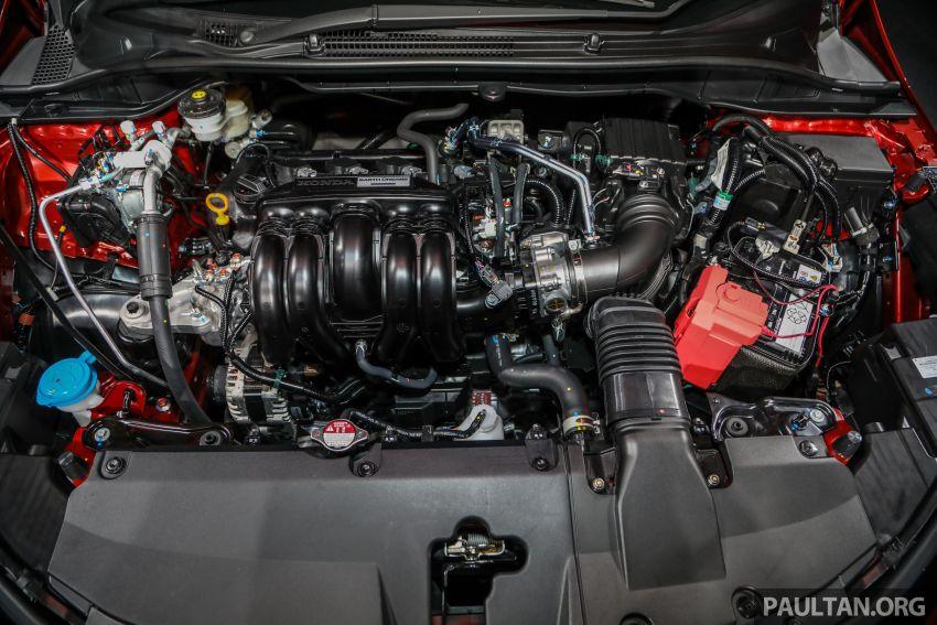 Honda City 2020 generasi kelima dilancarkan — empat varian, RS e:HEV, Honda Sensing; harga dari RM74k Image #1191995