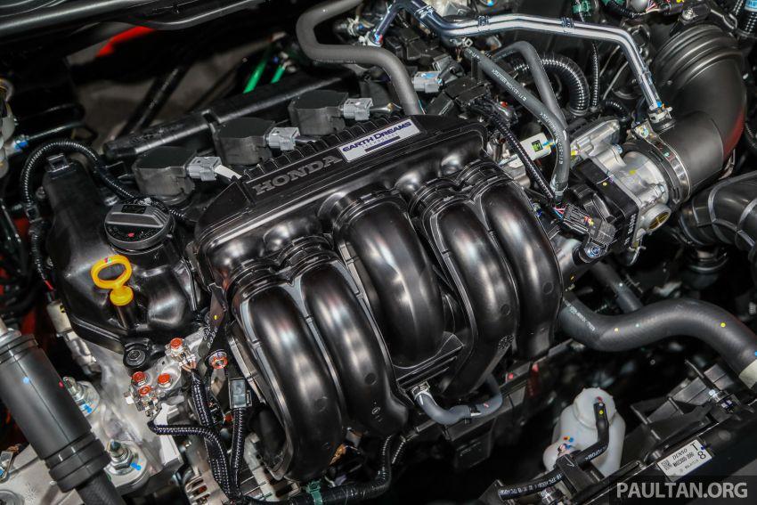 Honda City 2020 generasi kelima dilancarkan — empat varian, RS e:HEV, Honda Sensing; harga dari RM74k Image #1191997