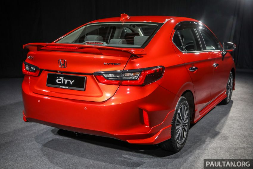 2020 Honda City – 5th-gen launched in Malaysia; 1.5L S, E and V; RS e:HEV Hybrid world debut, from RM74k Image #1192177