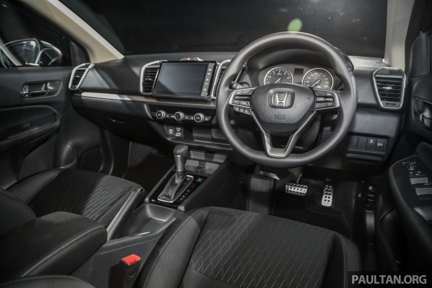 2020 Honda City – 5th-gen launched in Malaysia; 1.5L S, E and V; RS e:HEV Hybrid world debut, from RM74k Image #1192252