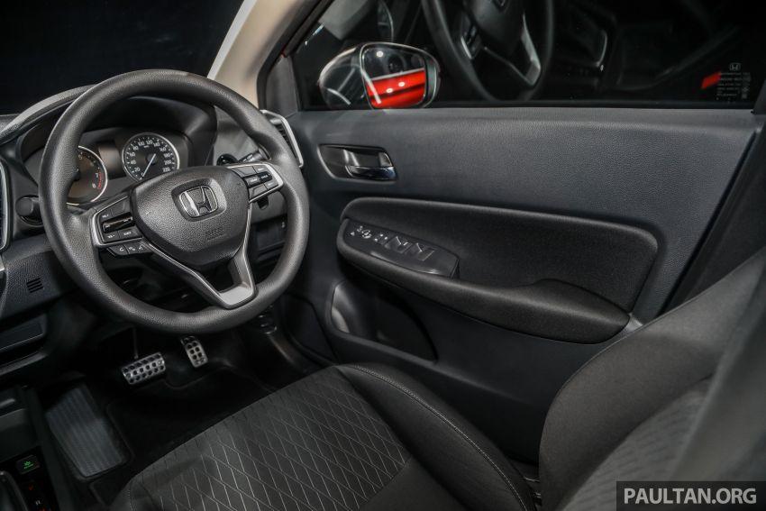 Honda City 2020 generasi kelima dilancarkan — empat varian, RS e:HEV, Honda Sensing; harga dari RM74k Image #1192026