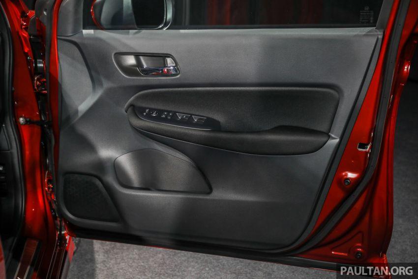 Honda City 2020 generasi kelima dilancarkan — empat varian, RS e:HEV, Honda Sensing; harga dari RM74k Image #1192031