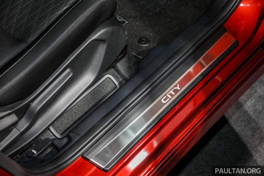 Honda City 2020 generasi kelima dilancarkan — empat varian, RS e:HEV, Honda Sensing; harga dari RM74k Image #1192038