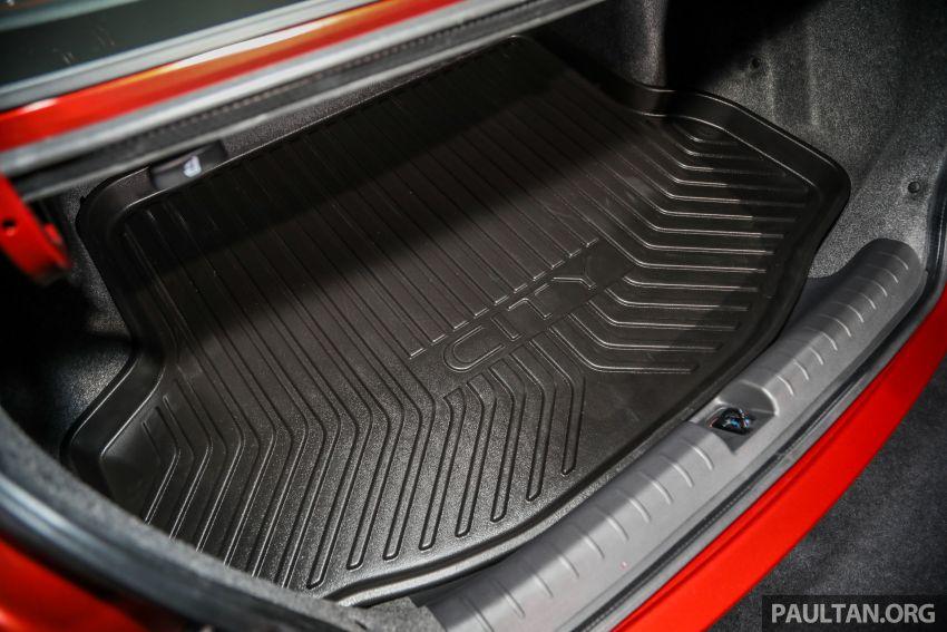 Honda City 2020 generasi kelima dilancarkan — empat varian, RS e:HEV, Honda Sensing; harga dari RM74k Image #1192051