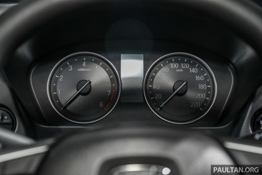 Honda City 2020 generasi kelima dilancarkan — empat varian, RS e:HEV, Honda Sensing; harga dari RM74k Image #1192007
