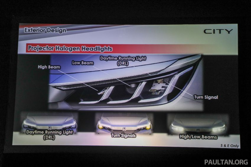 2020 Honda City – 5th-gen launched in Malaysia; 1.5L S, E and V; RS e:HEV Hybrid world debut, from RM74k Image #1192292