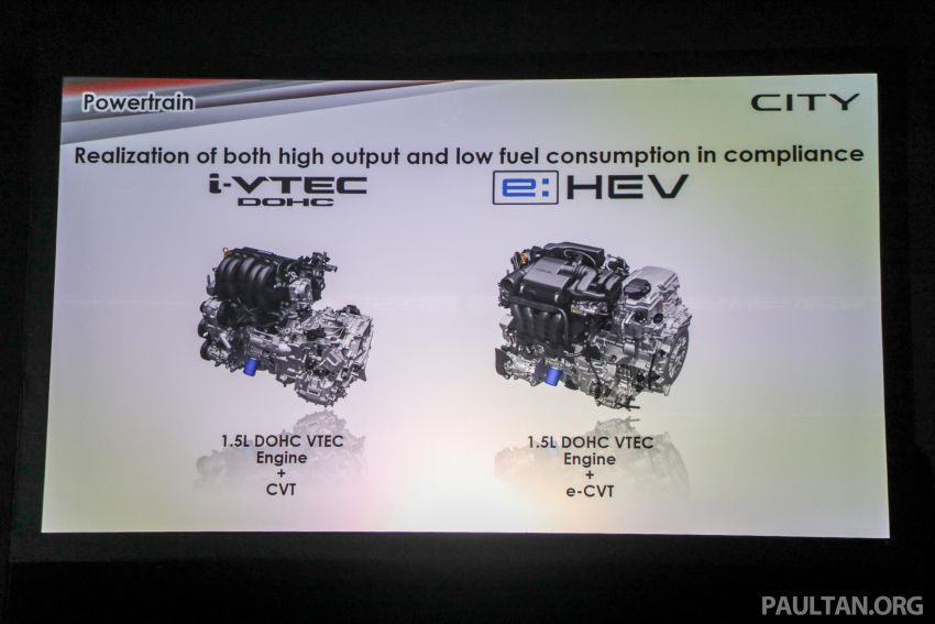 2020 Honda City – 5th-gen launched in Malaysia; 1.5L S, E and V; RS e:HEV Hybrid world debut, from RM74k Image #1192311