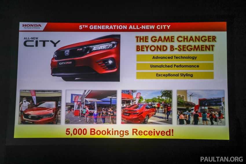 2020 Honda City – 5,000 bookings received so far, Honda Malaysia targeting monthly sales of 3,000 units Image #1192459