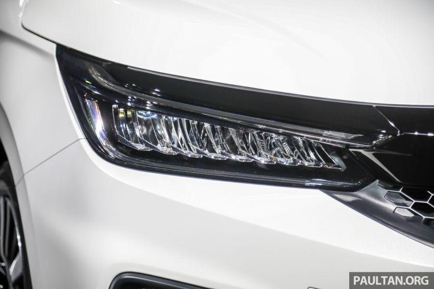 Honda City 2020 generasi kelima dilancarkan — empat varian, RS e:HEV, Honda Sensing; harga dari RM74k Image #1192069