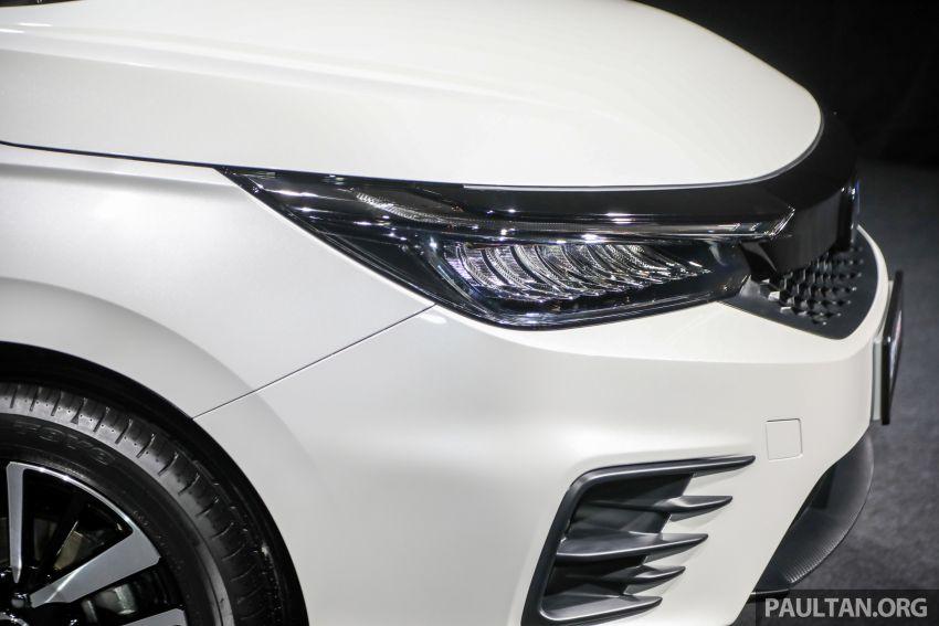Honda City 2020 generasi kelima dilancarkan — empat varian, RS e:HEV, Honda Sensing; harga dari RM74k Image #1192076
