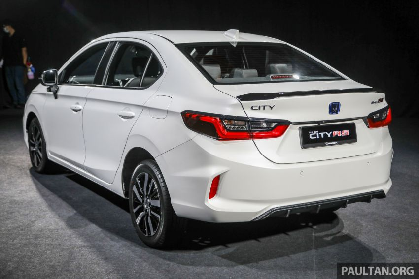 2020 Honda City – 5th-gen launched in Malaysia; 1.5L S, E and V; RS e:HEV Hybrid world debut, from RM74k Image #1191871