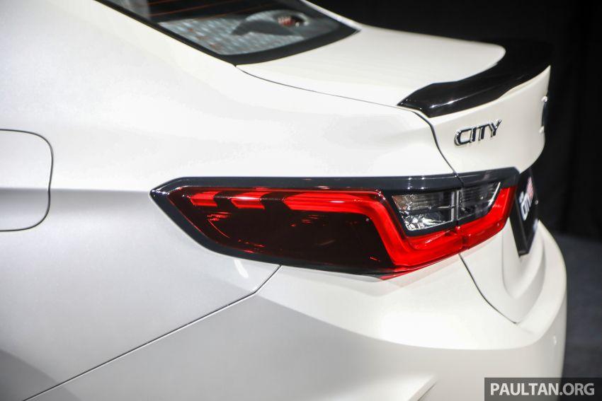 Honda City 2020 generasi kelima dilancarkan — empat varian, RS e:HEV, Honda Sensing; harga dari RM74k Image #1192104