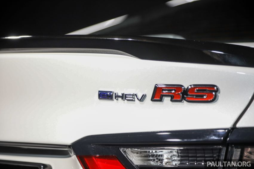 Honda City 2020 generasi kelima dilancarkan — empat varian, RS e:HEV, Honda Sensing; harga dari RM74k Image #1192105