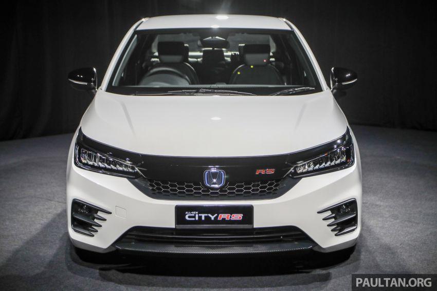 Honda City 2020 generasi kelima dilancarkan — empat varian, RS e:HEV, Honda Sensing; harga dari RM74k Image #1192062