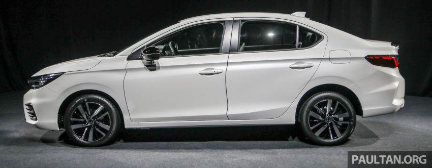 Honda City 2020 generasi kelima dilancarkan — empat varian, RS e:HEV, Honda Sensing; harga dari RM74k Image #1192065