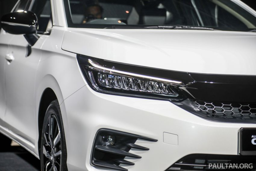 2020 Honda City – 5th-gen launched in Malaysia; 1.5L S, E and V; RS e:HEV Hybrid world debut, from RM74k Image #1191884