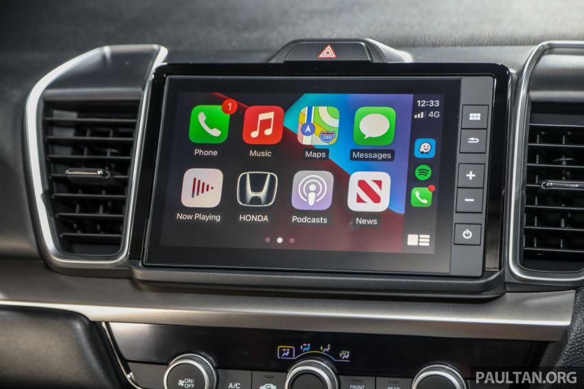 Honda City 2020 generasi kelima dilancarkan — empat varian, RS e:HEV, Honda Sensing; harga dari RM74k Image #1192119