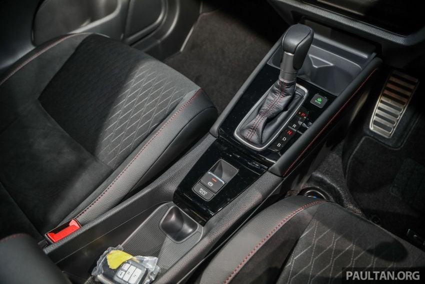 Honda City 2020 generasi kelima dilancarkan — empat varian, RS e:HEV, Honda Sensing; harga dari RM74k Image #1192122