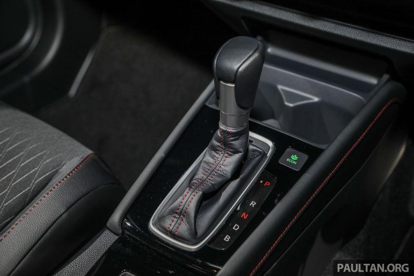 Honda City 2020 generasi kelima dilancarkan — empat varian, RS e:HEV, Honda Sensing; harga dari RM74k Image #1192123