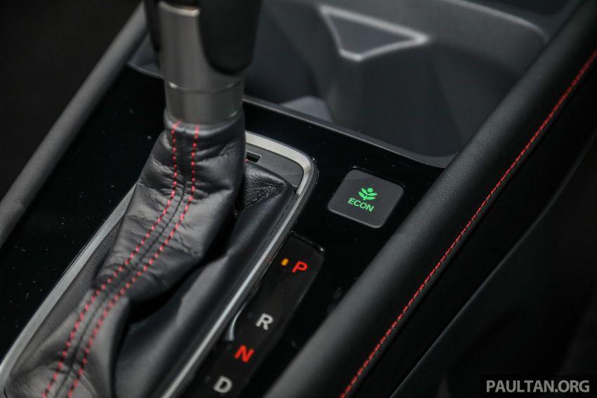 Honda City 2020 generasi kelima dilancarkan — empat varian, RS e:HEV, Honda Sensing; harga dari RM74k Image #1192124