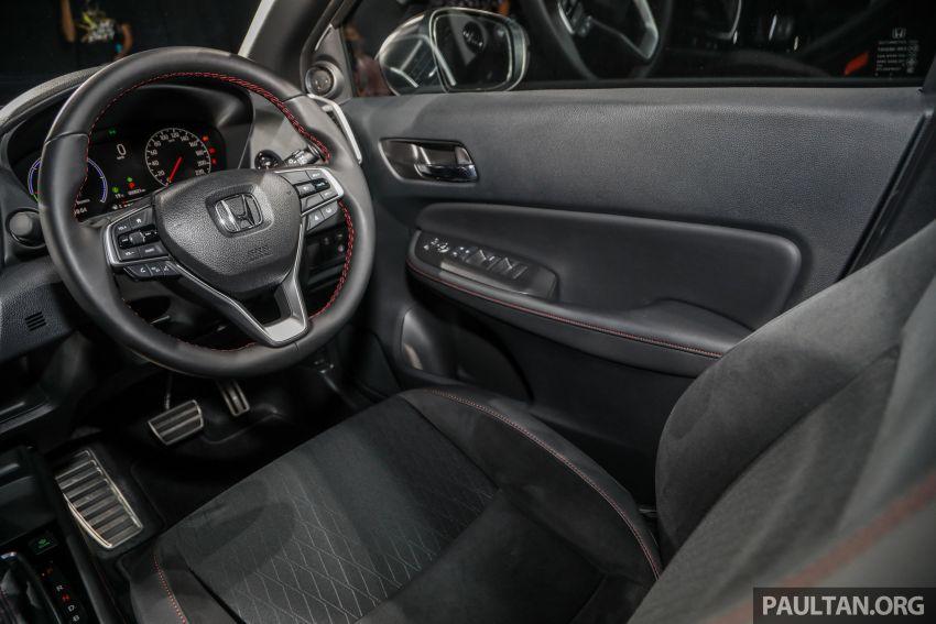 Honda City 2020 generasi kelima dilancarkan — empat varian, RS e:HEV, Honda Sensing; harga dari RM74k Image #1192135