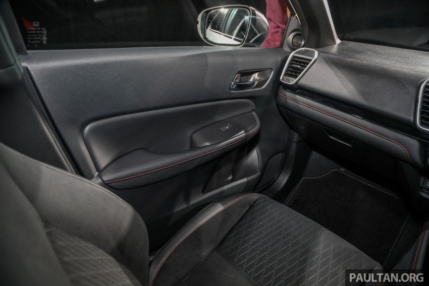 Honda City 2020 generasi kelima dilancarkan — empat varian, RS e:HEV, Honda Sensing; harga dari RM74k Image #1192137
