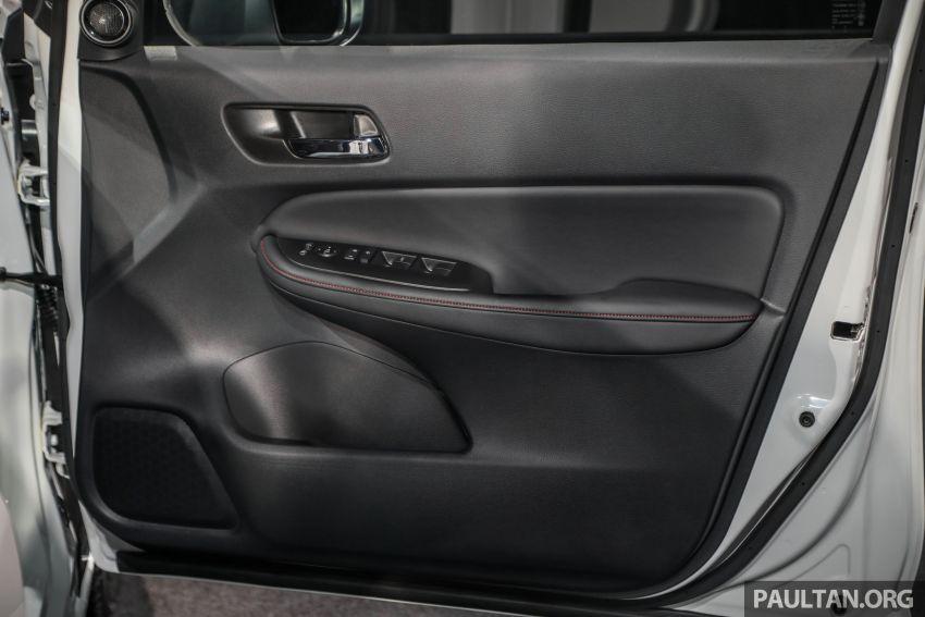 Honda City 2020 generasi kelima dilancarkan — empat varian, RS e:HEV, Honda Sensing; harga dari RM74k Image #1192138