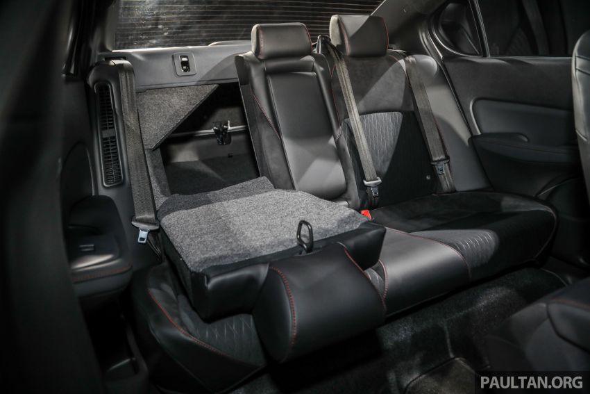 Honda City 2020 generasi kelima dilancarkan — empat varian, RS e:HEV, Honda Sensing; harga dari RM74k Image #1192149