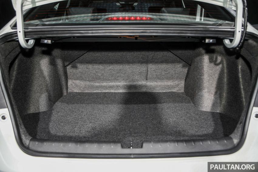 Honda City 2020 generasi kelima dilancarkan — empat varian, RS e:HEV, Honda Sensing; harga dari RM74k Image #1192154