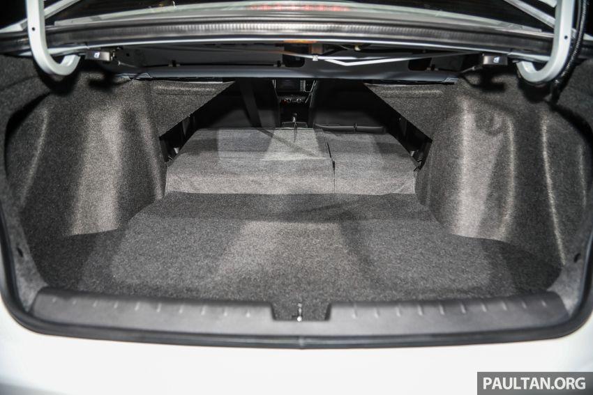Honda City 2020 generasi kelima dilancarkan — empat varian, RS e:HEV, Honda Sensing; harga dari RM74k Image #1192155