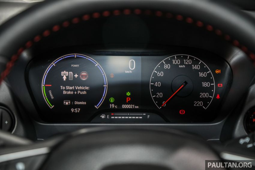 Honda City 2020 generasi kelima dilancarkan — empat varian, RS e:HEV, Honda Sensing; harga dari RM74k Image #1192112