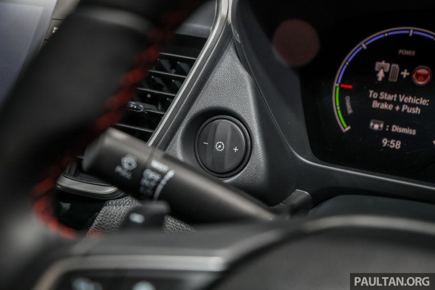 Honda City 2020 generasi kelima dilancarkan — empat varian, RS e:HEV, Honda Sensing; harga dari RM74k Image #1192113