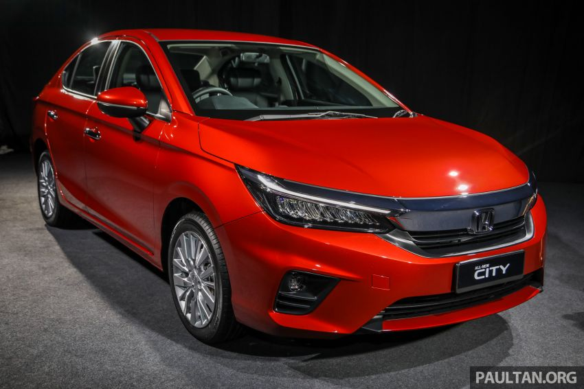 2020 Honda City – 5th-gen launched in Malaysia; 1.5L S, E and V; RS e:HEV Hybrid world debut, from RM74k Image #1191753