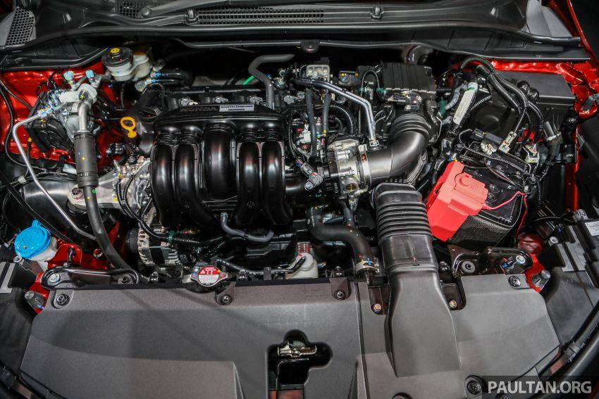Honda City 2020 generasi kelima dilancarkan — empat varian, RS e:HEV, Honda Sensing; harga dari RM74k Image #1191835