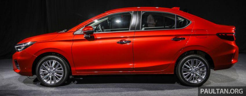 Honda City 2020 generasi kelima dilancarkan — empat varian, RS e:HEV, Honda Sensing; harga dari RM74k Image #1191800