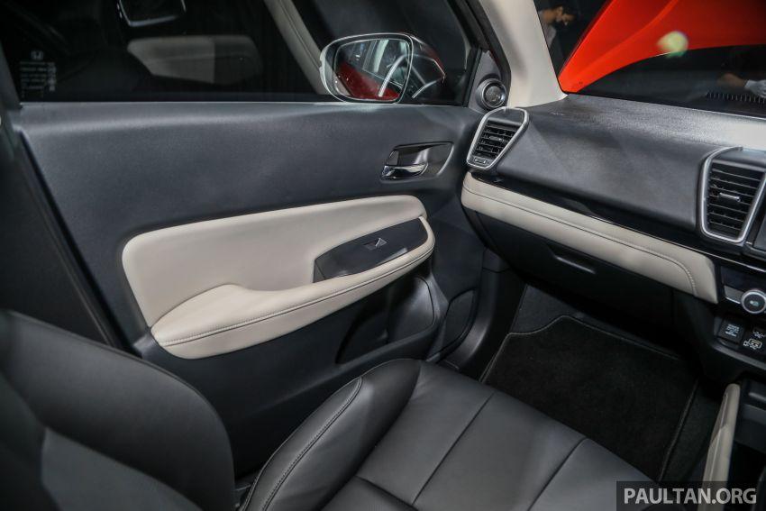 Honda City 2020 generasi kelima dilancarkan — empat varian, RS e:HEV, Honda Sensing; harga dari RM74k Image #1191869