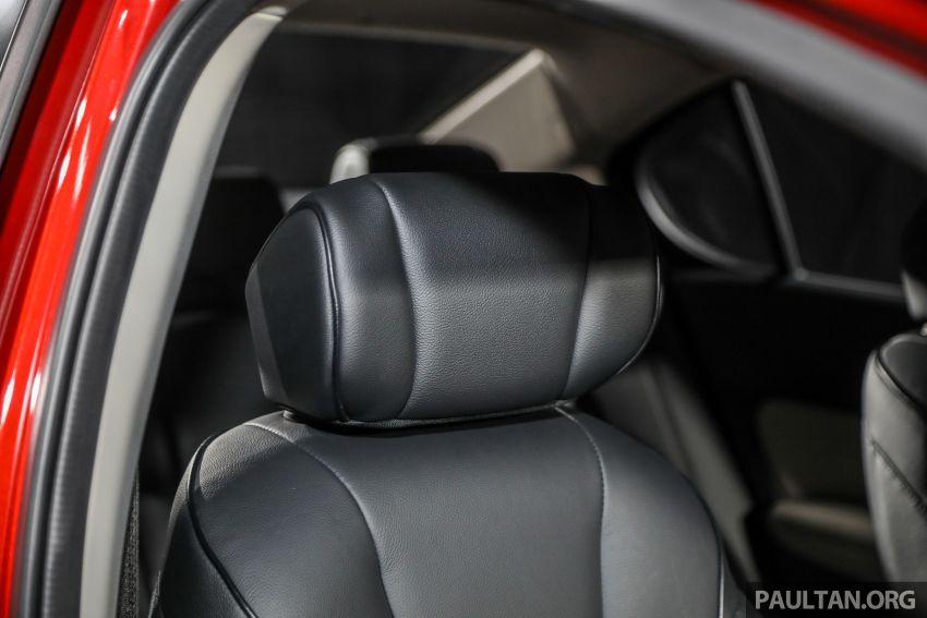 Honda City 2020 generasi kelima dilancarkan — empat varian, RS e:HEV, Honda Sensing; harga dari RM74k Image #1191883