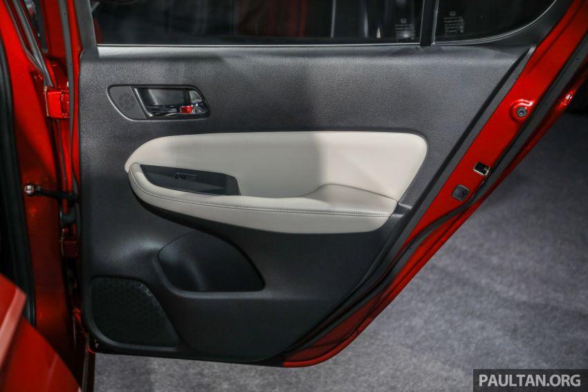 Honda City 2020 generasi kelima dilancarkan — empat varian, RS e:HEV, Honda Sensing; harga dari RM74k Image #1191885