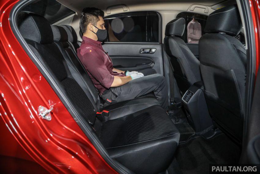 Honda City 2020 generasi kelima dilancarkan — empat varian, RS e:HEV, Honda Sensing; harga dari RM74k Image #1191904