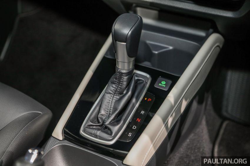 Honda City 2020 generasi kelima dilancarkan — empat varian, RS e:HEV, Honda Sensing; harga dari RM74k Image #1191857