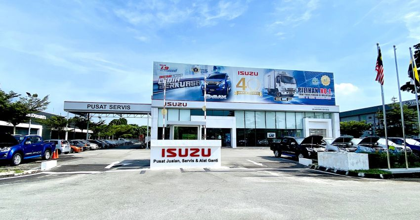 Isuzu Malaysia launches new 3S centre in Taiping Image #1199265