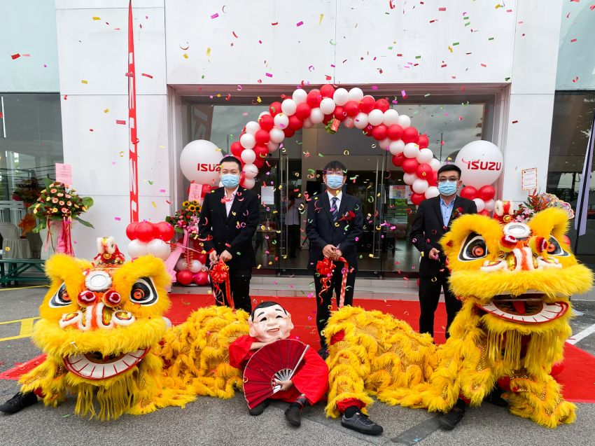 Isuzu Malaysia launches new 3S centre in Taiping Image #1199267